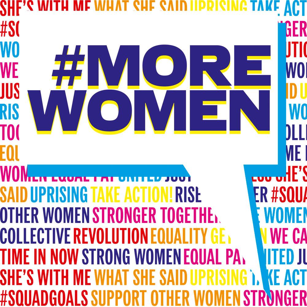 ELLE UK: #MoreWomencampaign