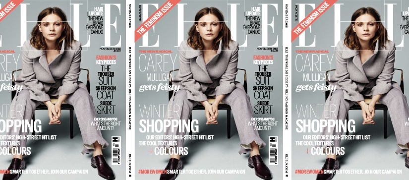 ELLE UK: The Feminism issue