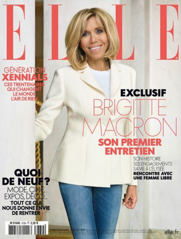 ELLE France: first lady on cover!