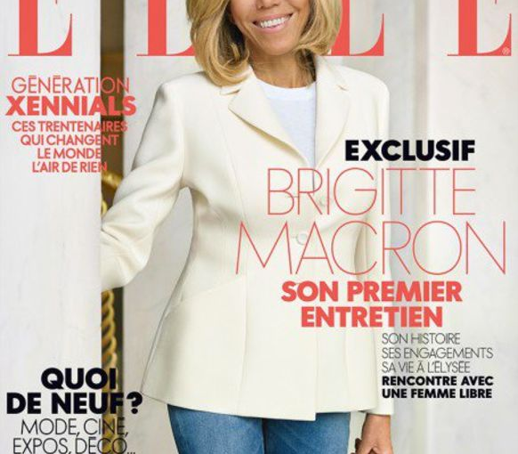 ELLE France: first lady oncover!