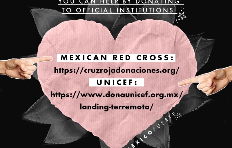 Help Mexico afterearthquake