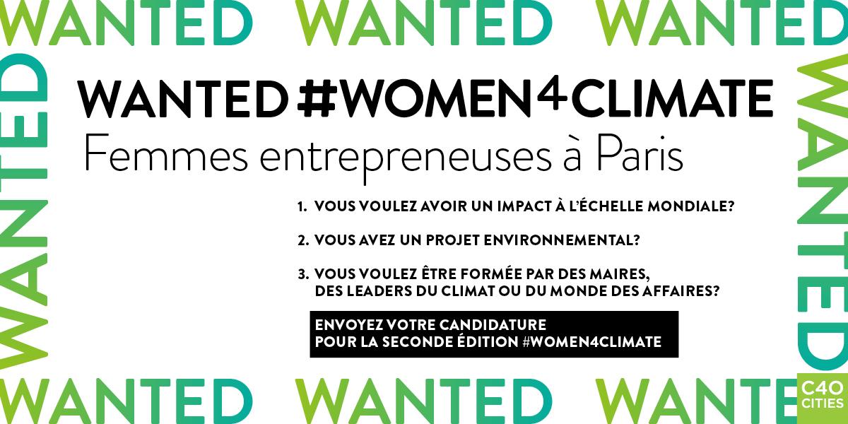 C40: WOMEN4CLIMATE Mentorship,Paris