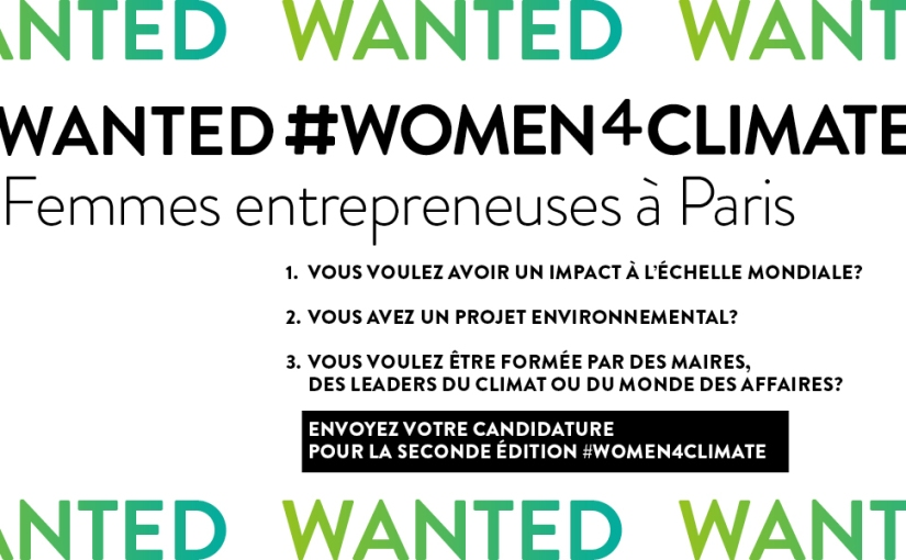 C40: WOMEN4CLIMATE Mentorship, Paris