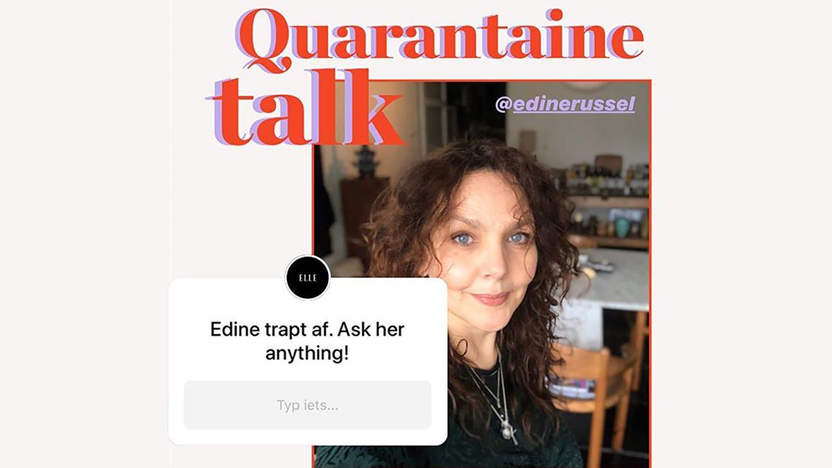 Quarantine talks with theeditors